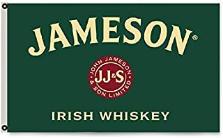 2But Jameson Irish Whiskey Flag Banner 3X5Feet