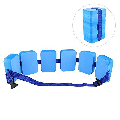 VGEBY1 Cinturón de Seguridad para el baño de la Vida, Flotador Ajustable Ligero de la Ayuda de la formación de la natación de EVA Que Nada flotando