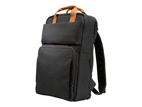 HP PowerUP - Notebook Carrying Backpack - 17.3' - Brown, Gray