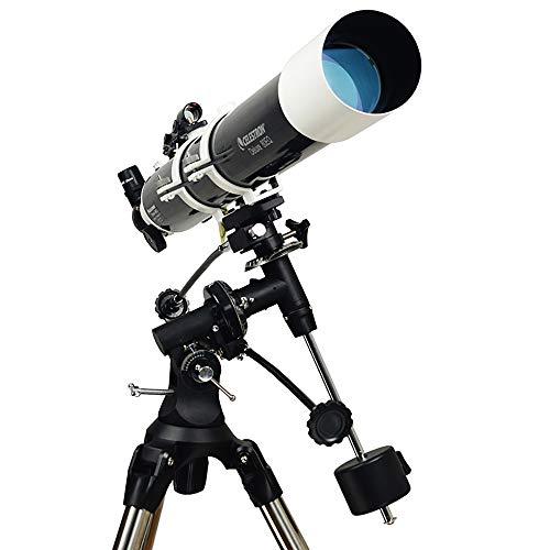 WANGLXST 80/900mm Astronomische Teleskop Suchfernrohr, Okular 4mm/10mm/20mm Refraktor Teleskop für Einsteiger, Amateur-Astronomen, Black