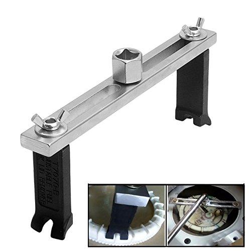 FireAngels universaler Schlüssel zum Entfernen von Tankdeckelabdeckungen / Kraftstoffpumpen, einstellbar, Werkzeug für Autoreparatur, Autozubehör