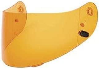 HJC Helmets HJ-20 Unisex-Adult Full-Face-Helmet-Style Replacement Helmet Face Shield (Amber,One Size)