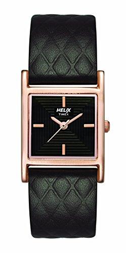 Helix TW034HL04 - Reloj analógico para Mujer, Color marrón