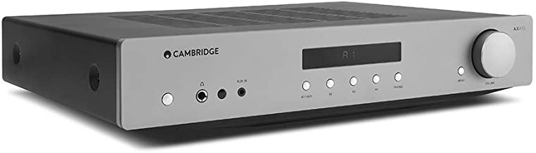 Cambridge Audio AXA35 35 Watt 2-Channel Integrated Stereo Amplifier | Built-in Phono-Stage | .25 Inch Jack, 3.5mm Aux