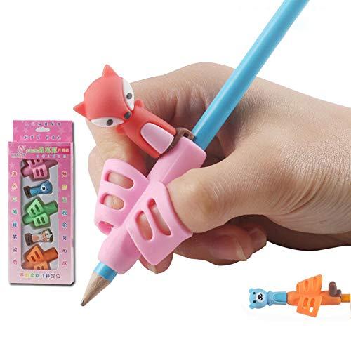 Bleistiftgriffe, Handschrift Stifthalter Stifthalter Schreibhilfe Griffset Training Haltungskorrektur Werkzeug für Kinder Vorschüler Kinder Erwachsene besondere Bedürfnisse Stifthalter für Schreibarbe