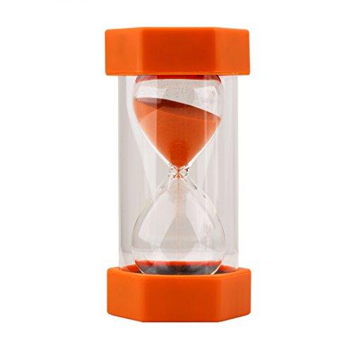 Kinderen Kinderen Hand Zandloper Zandloper Zandloper Zandloper Eierwekkers Voor Koken Spelen Spelen Praktijk Timing Perfect Gift Oranje