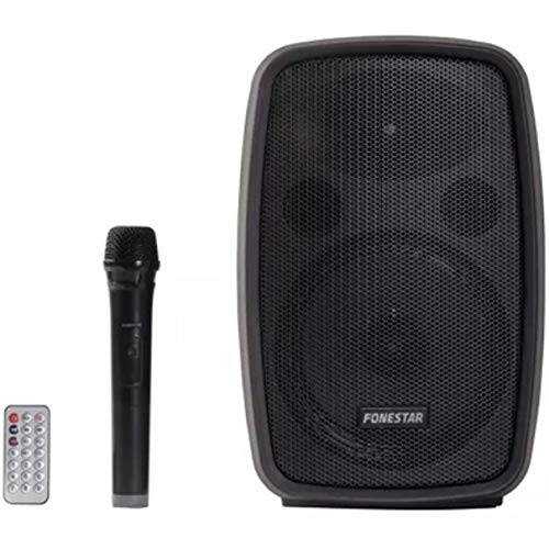 ALTAVOZ PORT�TIL FONESTAR AMPLY 100W BT FM USB/MICROSD BASS REFLEX MICRÓFONO INAL�MBRICO BAT. 2000MAH MANDO A DISTANCIA
