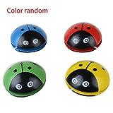 ZengBuks Cute Animal Wooden Yoyo Toys Portable Ladybug Impresión Yoyo Ball para...