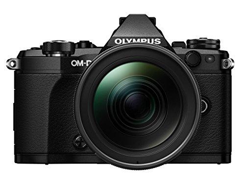 Olympus OM-D E-M5 Mark II Kit, Micro Four Thirds Systemkamera (16.1 Megapixel, 5-Achsen Bildstabilisator, elektronischer Sucher) + M.Zuiko 12-40mm PRO Universalzoom, schwarz