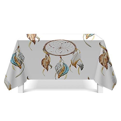 DREAMING-Abstrakte Strukturierte Kunst Tischdecken Home Esstisch Stoff Tv-Schrank Couchtisch Stoff Runde Tisch Tischset 140cm * 200cm