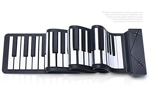 Flexible portable Teclado 88 llaves electrónicas balanceo m