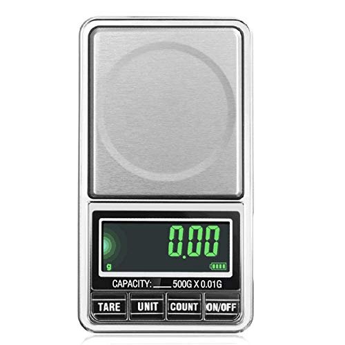 Mini Báscula De Joyería De Precisión 0.01G ParaBolsillo En Polvo, Balanza De Peso Digital, Soporte Electrónico, Alimentado Por Usbbilancia Per Gioielli Ad Alta Precisione