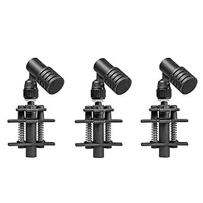 beyerdynamic TG D35D Triple Set Instrument Dynamic Microphone, Black/grey