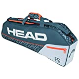 HEAD Core 3R Pro Sac de Raquette de T Adulte Unisexe, Gris/Orange