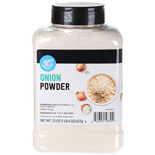 Amazon Brand - Happy Belly Onion Powder, 22 Ounce