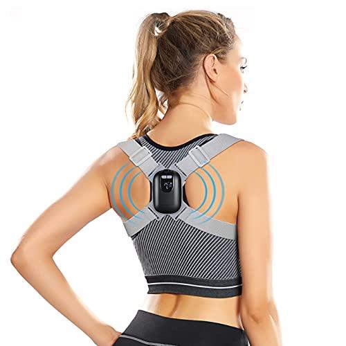 Posture Corrector with Built-in Chip Smart Sensor Vibration Reminder, Intelligent Posture Reminder for Kids Men Women Help to Keep Right Posture to Keep a Good Habit