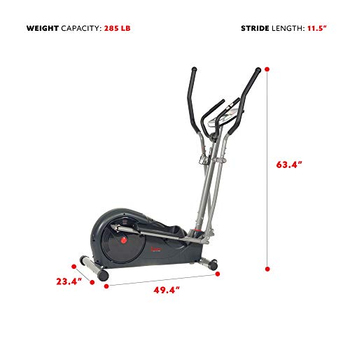 Sunny Health & Fitness Elliptical Machine Trainer