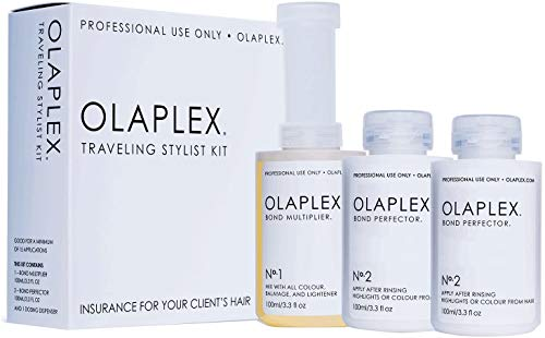 Olaplex Traveling Stylist Kit, Bond Multiplier 1 and Bond Perfector 2, No Box by Hair Care & Styling