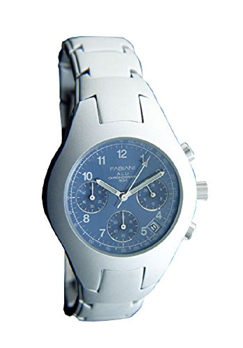 FABIANI ALU Herren-Armbanduhr Chronograph 3572