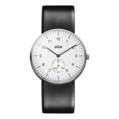 Braun Herren Analog Quarz Armbanduhr BN0024WHBKG