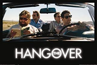 Imaginus Posters The Hangover Off to Vegas Bradley Cooper Ed Helms Zach Galifianakis Comedy Movie Poster 24 x 36 inches