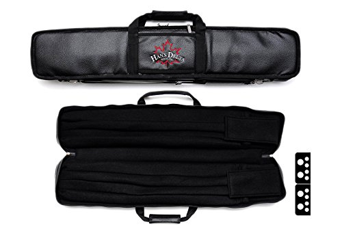 Delta 4x8 Tacoma Soft 4Butts and 8Shafts Pool Cue Case (Black)