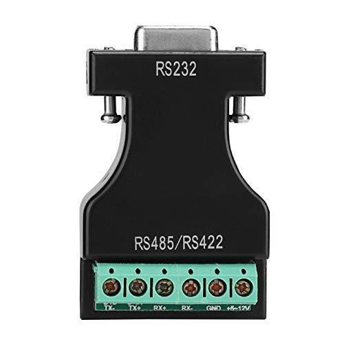 Socobeta Durable Anti-sobretensión RS-232 a 485/422 Conveniente Adaptador en Cascada Fácil de Transportar Dispositivos Convertidor Ligero Buena compatibilidad para máquinas de Asistencia