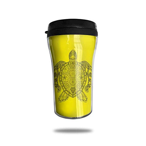 Belgique Drapeau Stripe Voyage Tasse À Café Imprimé 3D Tasse À Vide Portable, Isolé Tasse À Thé Gobelet De Bouteille D'eau Pour Boire Avec Couvercle 8.54 Oz (250 Ml)
