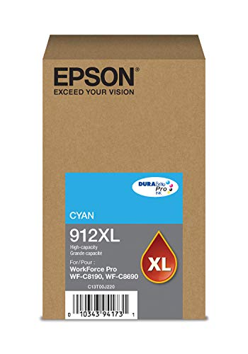 Epson DURABrite Pro T912XL220 Ink Cartridge - High Capacity Cyan