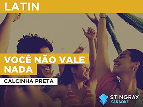 Você não vale nada in the Style of Calcinha Preta