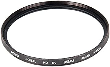 Bower 95mm UV Filter for Nikon 200-500mm f/5.6E ED VR Lens, Sigma 150-600mm F5-6.3 (Contemporary) Lens, Sigma 50-500mm F4.5-6.3 APO DG OS HSM Lens, Tamron 150-600mm F/5-6.3 Di VC USD Lens