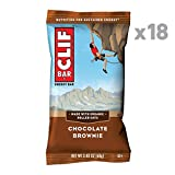 CLIF BAR - Energy Bars - Chocolate Brownie - (2.4 Ounce Protein Bars, 18 Count)