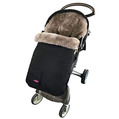 Save %12 Now! Australia Sheepskin Footmuff for All Stroller,Weather Resistant,Height and Temperature...