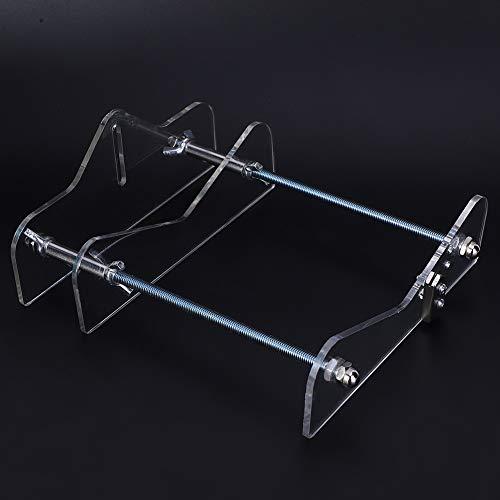 Cortador de botellas de vidrio, herramientas de bricolaje, herramientas manuales, soportes de riel de tornillo, para botellas redondas pequeñas y medianas