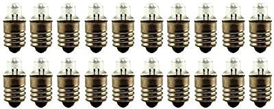 "Eiko - 222 Miniature Light Bulbs - Used with 2""AA"" Cells -"