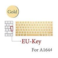 BluetoothワイヤレスキーボードMLA22LL / A1644 IFor MacマジックキーボードカバープロテクターシリコーンカバーUS/EUバージョン-EU-Key-G-