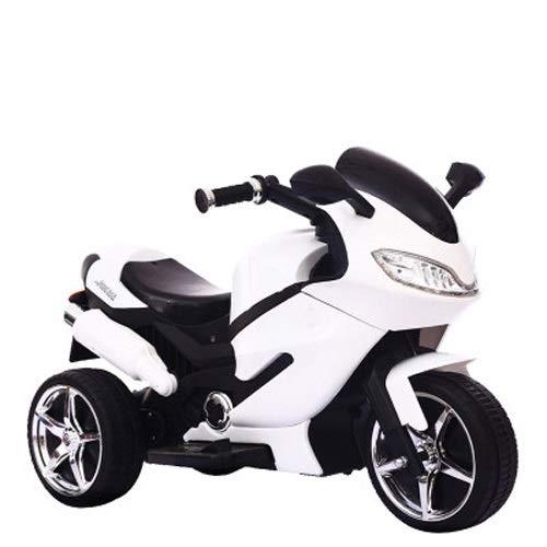 Tagke Niños eléctrico Motocicleta niño Triciclo Carga Botella Coche niño Juguete Coche Puede Sentarse…