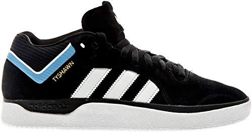 adidas Skateboarding Tyshawn, Core Black-Cloud White-Light Blue, 9,5