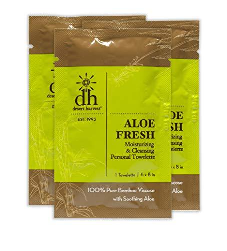 Aloe Fresh Moisturizing & Personal Towelette (12 Pack) -  Desert Harvest