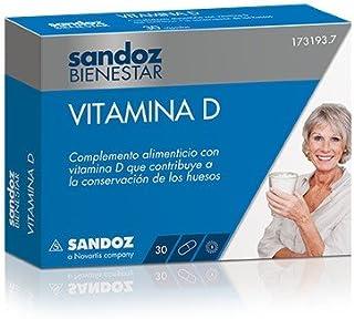SANDOZ Bienestar vitamina d3 30 capsulas