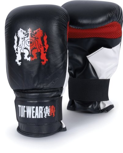 Title Boxing Tuf-Wear Pro Tactic Heavy Bag Gloves, Black, Reg