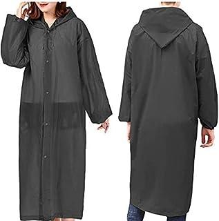 Rain Ponchos for Adults, Disposable Rain Coats for Women Waterproof with Hood,Rain Coats for Men, Reusable Rain Jackets by...