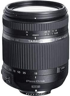 Tamron 18-270mm F/3.5-6.3 Di II VC PZD TS for Nikon APS-C DSLR Cameras (6 Year Tamron Limited USA Warranty)