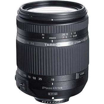 Tamron 18-270mm F/3.5-6.3 Di II VC PZD TS for Nikon APS-C DSLR Cameras  6 Year Tamron Limited USA Warranty