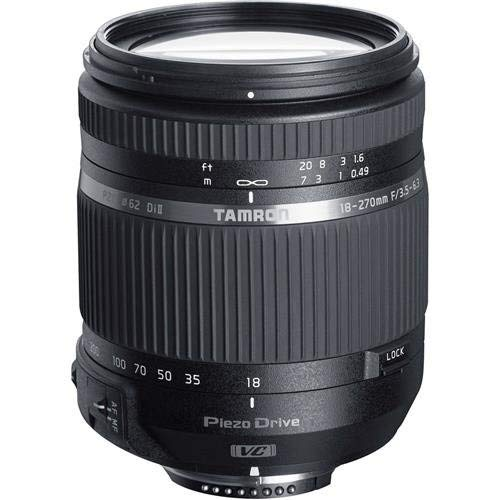 Tamron 18-270mm F/3.5-6.3 Di II VC PZD TS for Nikon APS-C DSLR Cameras (6 Year Tamron Limited USA Warranty)