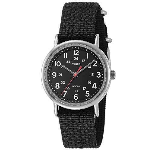 Timex Unisex Analog Quarz mit Nylon Armband T2N647