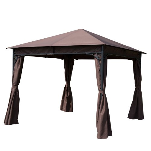 Outsunny 300 x 300 CM Garden Metal Gazebo Marquee Patio Party Tent Canopy Shelter Pavilion New