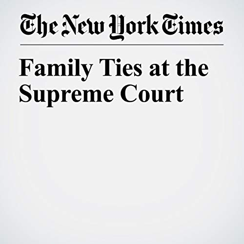 『Family Ties at the Supreme Court』のカバーアート