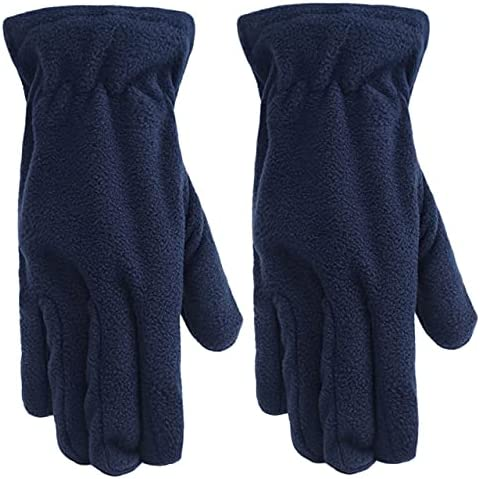 Work Gloves Winter Glove Windproof Liners Thermal Polar Fleece Hands Warmer In Cold Weather For Men And Women Warm Gloves