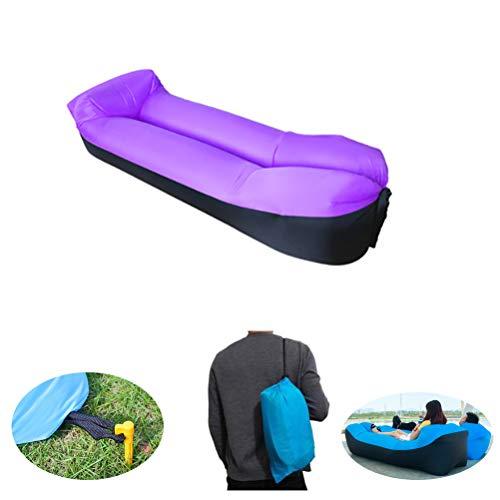 Waterdichte Air Sofa Hangmat, opblaasbare Lounger, Lek-proof Portable Couch, Fast Inflating Air Bed, met draagbaar pakket Lazy Lounger Pool & Beach Parties